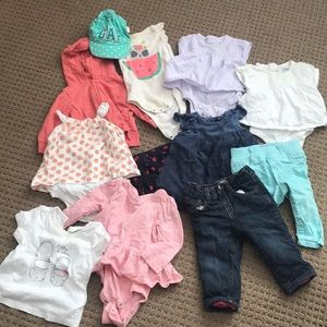 Baby GAP girls lot 6-12 months.